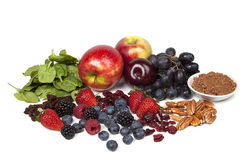 Fruits veggies nuts