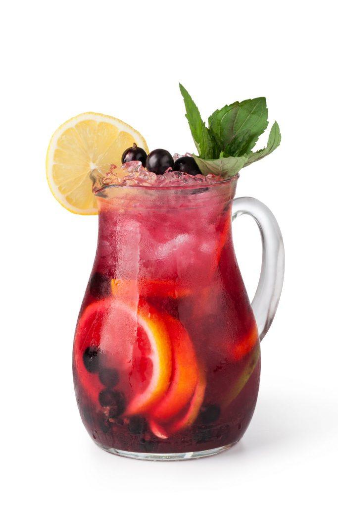 Pitcher of Citrus Fruit Drink